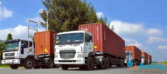 Proship cung cấp dịch vụ chuyển hàng tới KCN Quế Võ I, II, III uy tín, giá rẻ