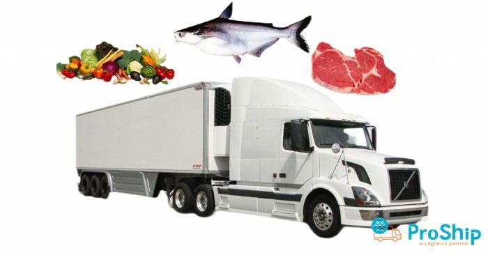 Vận chuyển thực phẩm bằng Container lạnh vào Sài Gòn nhanh chóng, giá rẻ