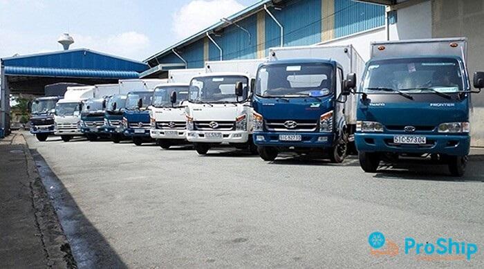 Proship chành xe vận tải Sài Gòn Sóc Trăng uy tín, nhanh chóng và giá rẻ